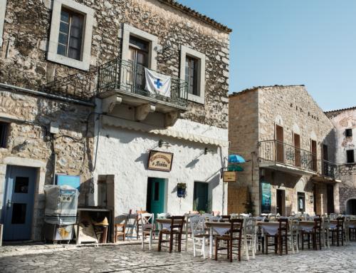 """To «My Greece» και η Δέσποινα Βανδή στην Αρεόπολη και στο Μεζεδοπωλείο """"Ο Πούλος"""""""