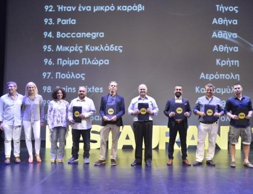 Restaurant100 – Μια Θέση Στα 100 Καλύτερα Εστιατόρια της Ελλάδας Για Το 2019